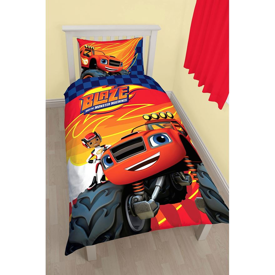 Blaze and the Monster Machines Single Duvet Cover Set image-0