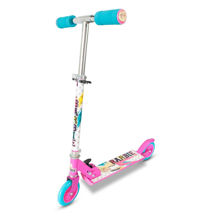 Barbie Folding Inline Scooter image-0