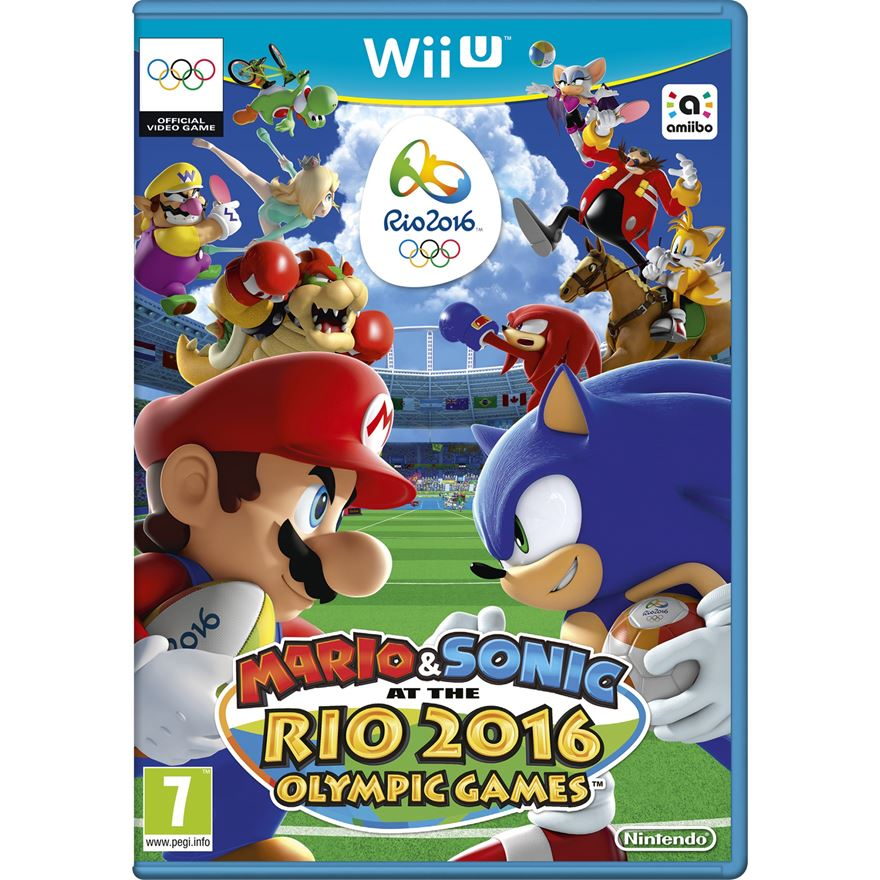 Mario & Sonic at the Rio 2016 Olympic Games Wii U image-0