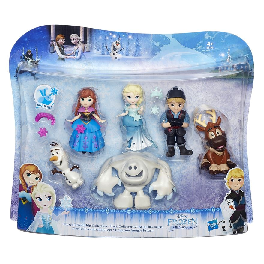 Disney Frozen Friendship Snap-Ins Collection image-0