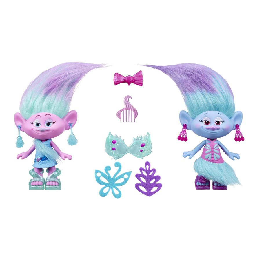 Trolls Satin and Chenille Style Set image-0