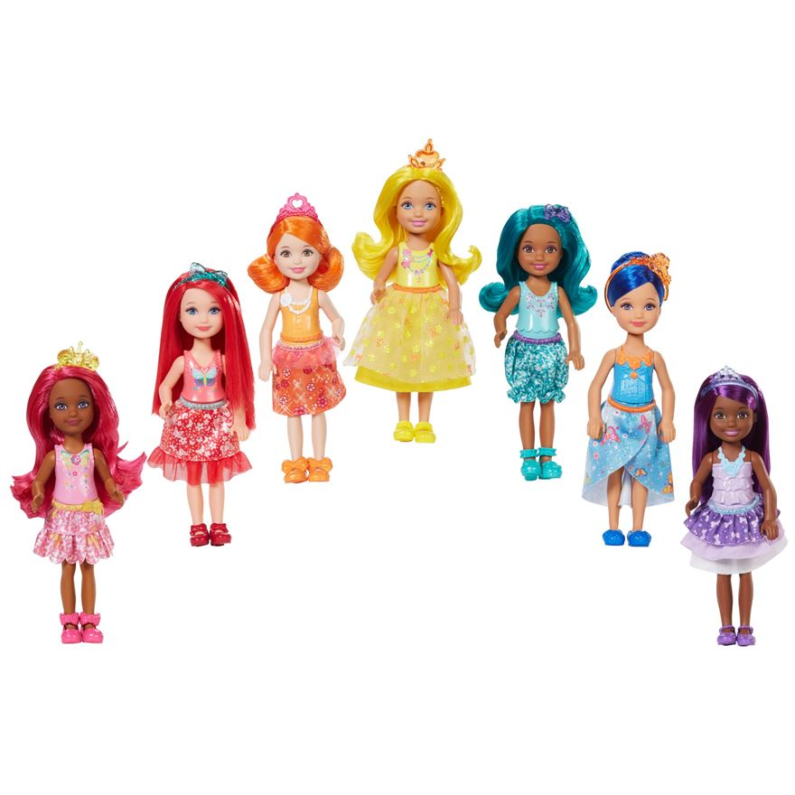 Barbie Dreamtopia Rainbow Cove Chelsea Doll Gift Set image-0