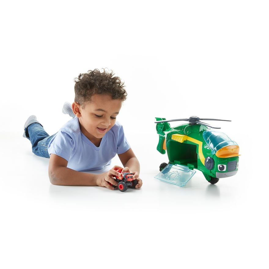 Blaze and the Monster Machines Monster Copter Swoops image-0