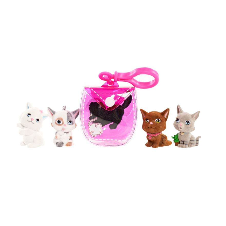 Kitty In My Pocket Clip On Pocket Pouch - Assortment image-0