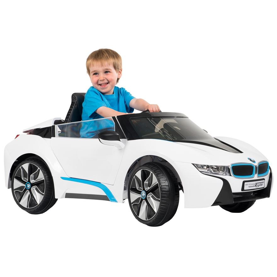 BMW i8 12V Electric Ride On with Remote Control image-0