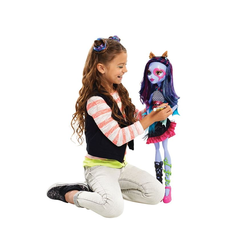 Monster High Ghoul Friend - Gore-geous Ghoul – Purple image-0