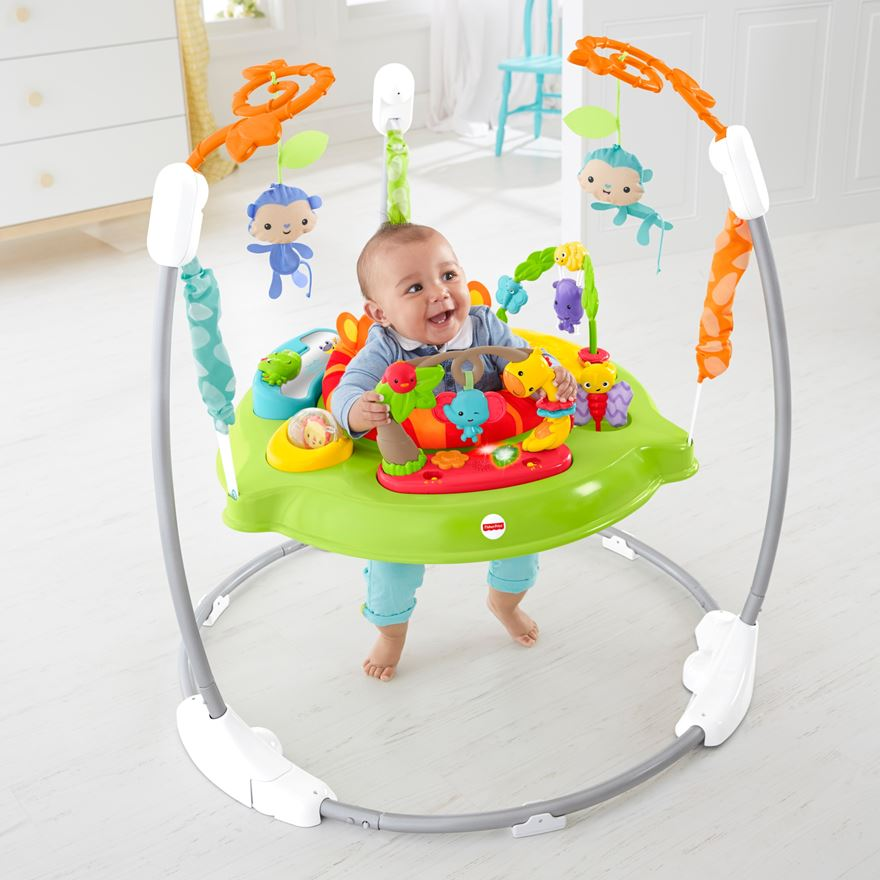 Fisher-Price Roaring Rainforest Jumperoo image-0
