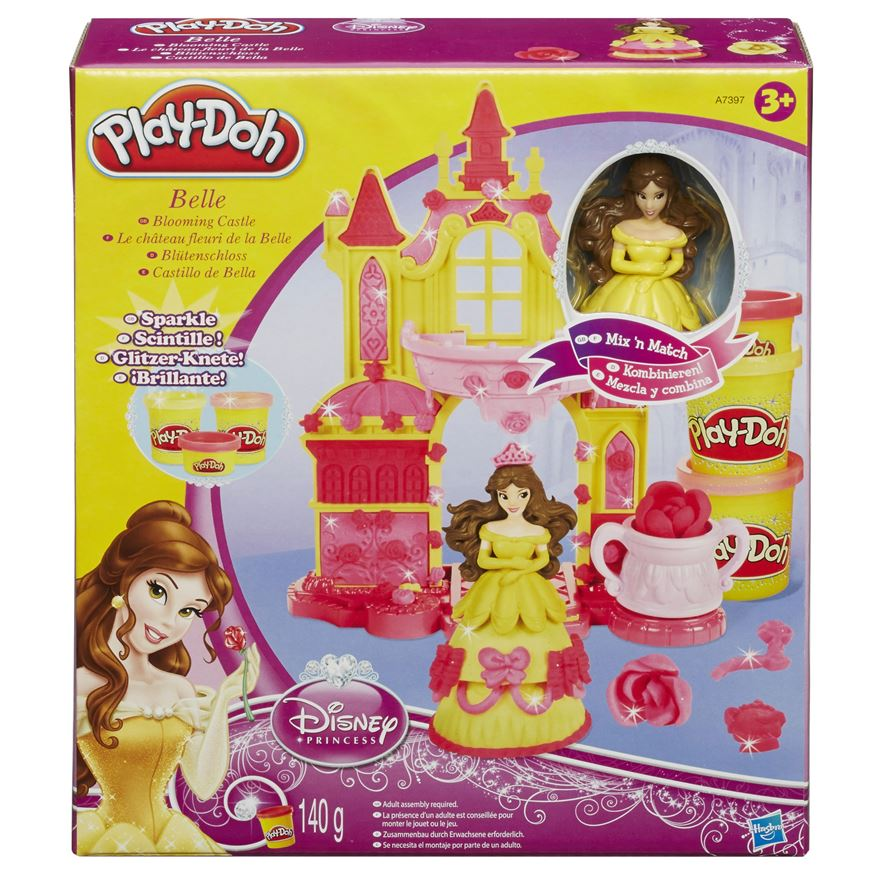 Play-Doh Disney Princess Belle's Blooming Castle image-0