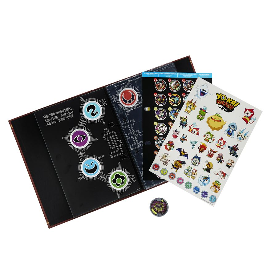 Yo-kai Watch Yo-kai Medallium Collection Book image-0