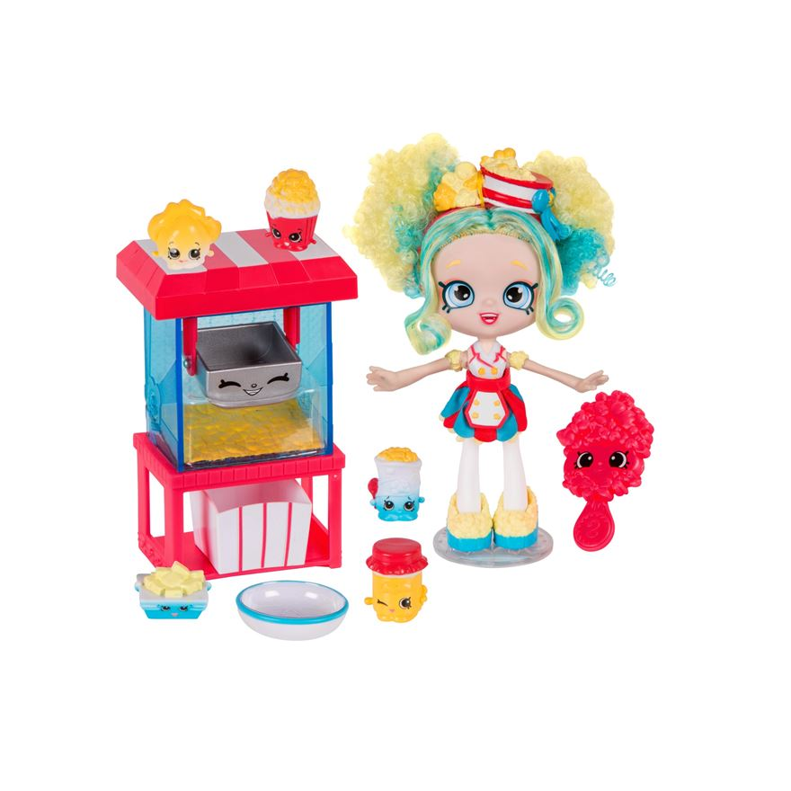 Shopkins Shoppies 'Popettes Popcorn Stop' Playset image-0