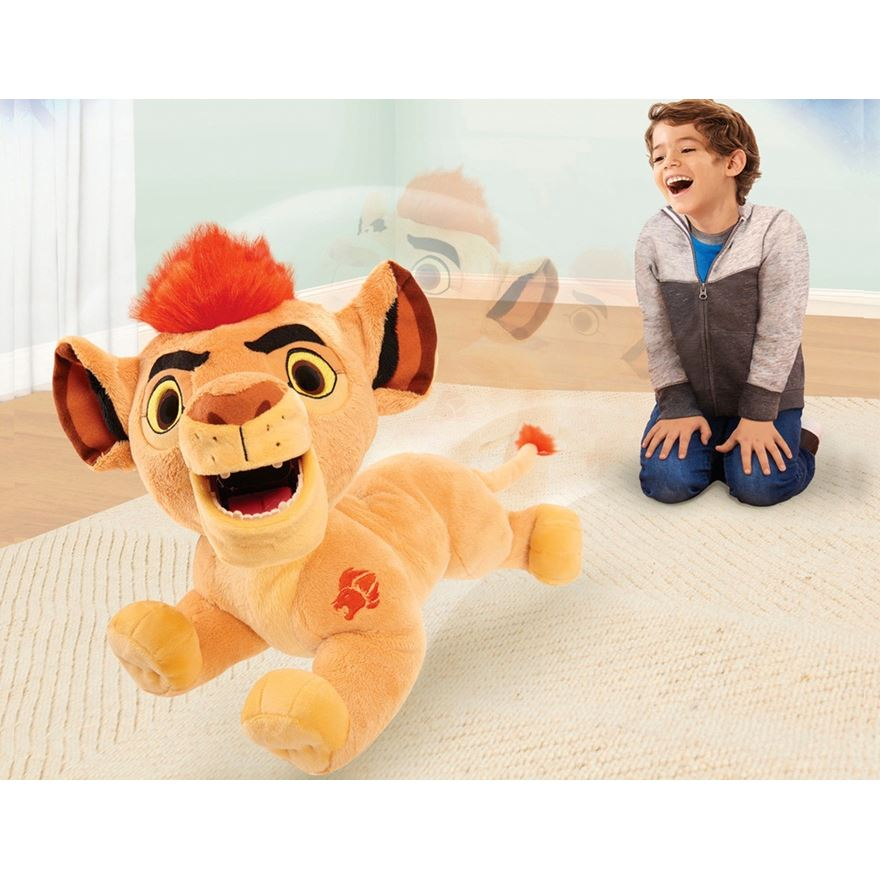 Lion Guard Leap n' Roar Animated Kion image-0