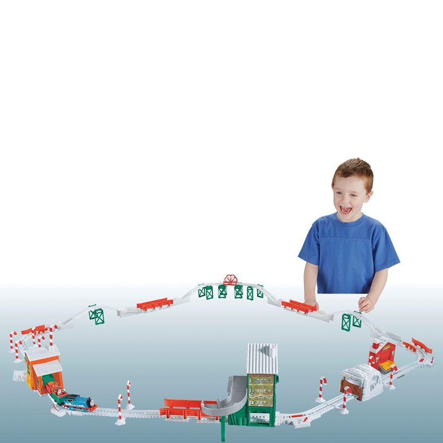 Thomas & Friends TrackMaster Holiday Cargo Delivery Set image-0
