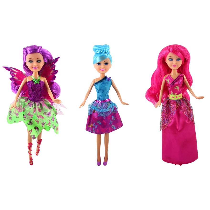 Sparkle Girlz Butterfly Fairy Doll image-0