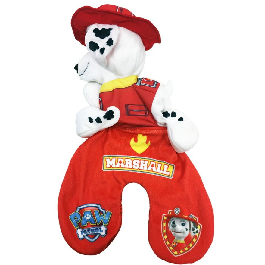 Paw Patrol Marshall 2 in 1 Reversible Travel Pillow image-0