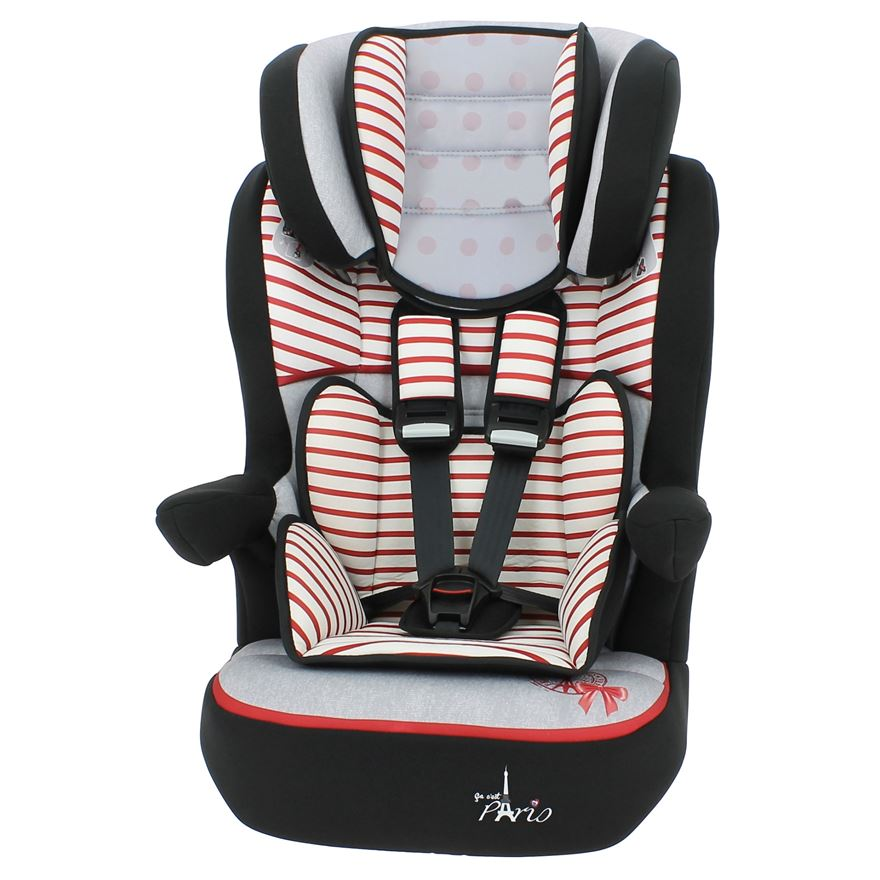 Imax Bonjour Red Group 1-2-3 Car Seat image-0
