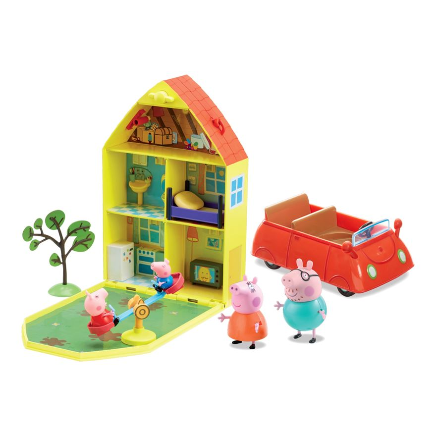Peppa Pig Family Home Playset image-0