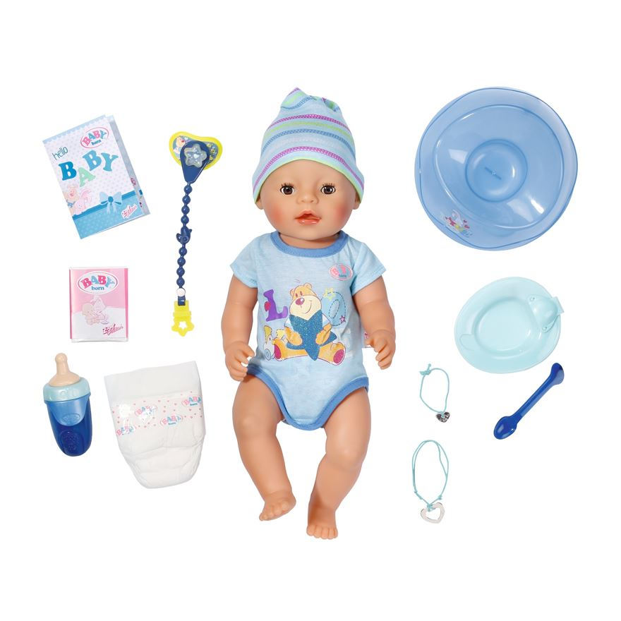 New BABY Born Interactive Boy Doll image-0