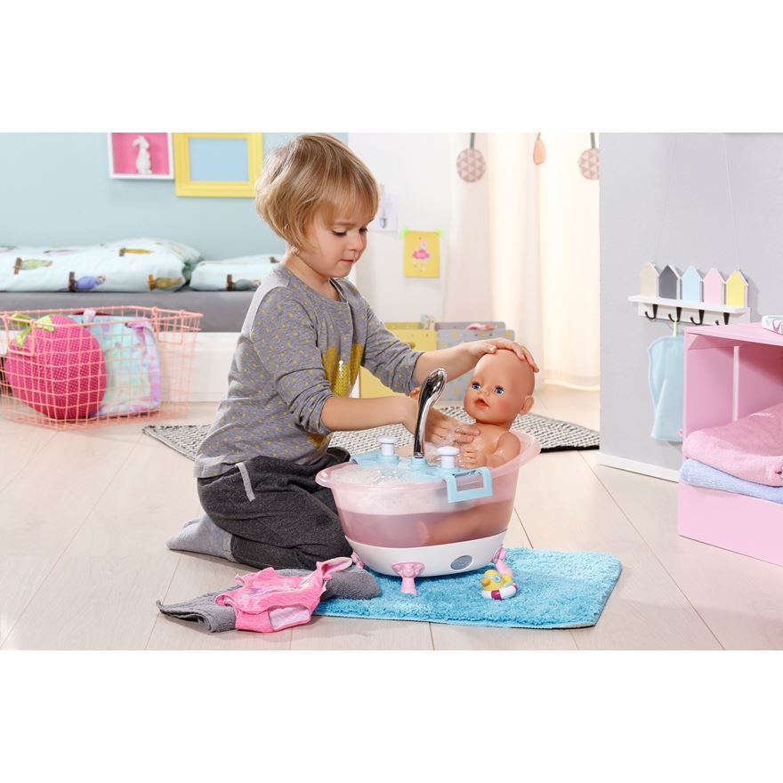 BABY Born Interactive Bathtub with Foam image-0