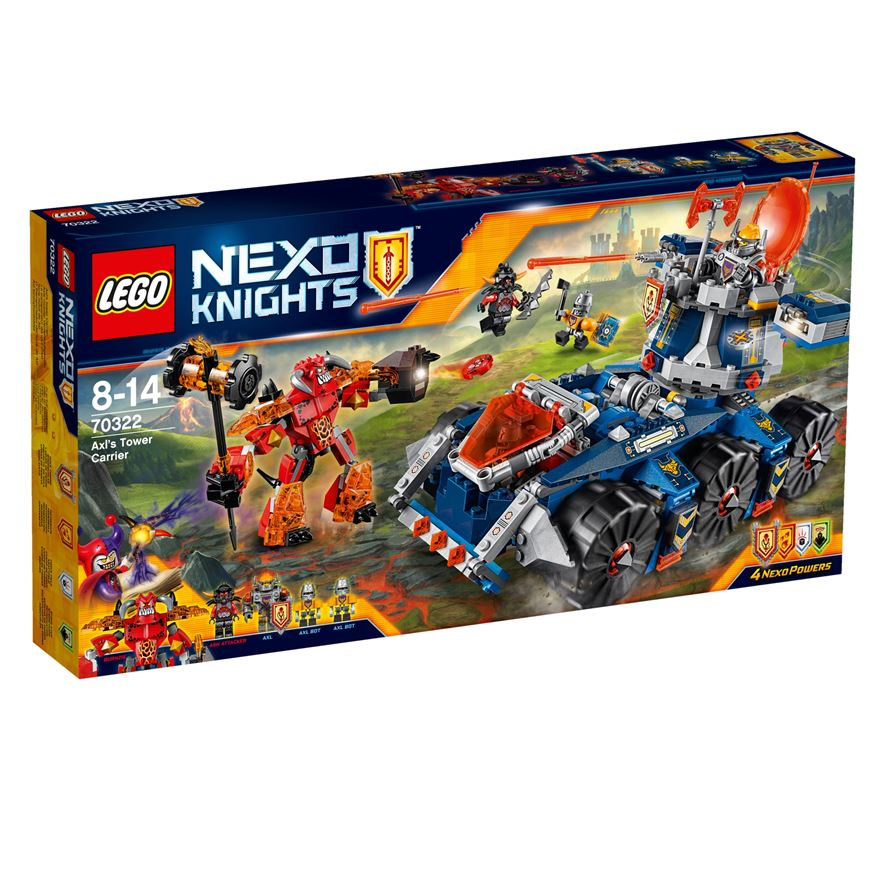 LEGO Nexo Knights Axl's Tower Carrier 70322 image-0