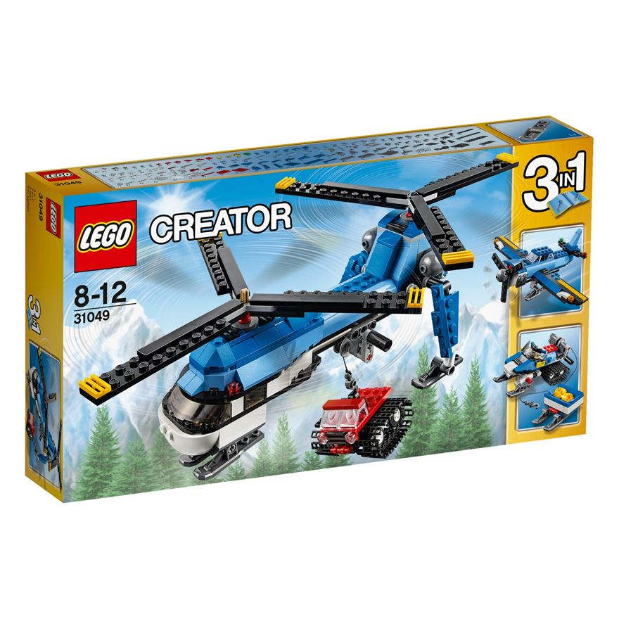 LEGO Creator Twin Spin Helicopter 31049 image-0