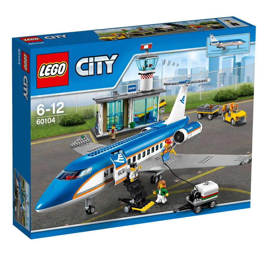 LEGO City Airport Passenger Terminal 60104 image-0