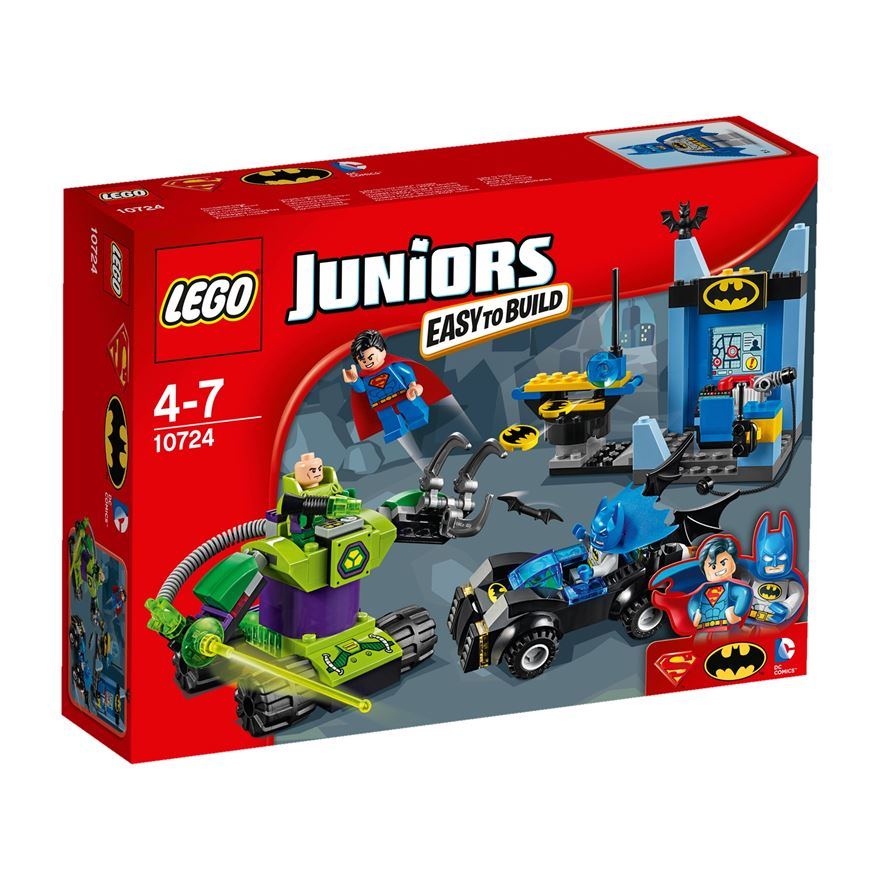 LEGO Juniors DC Comics Super Heroes Batman & Superman vs. Lex Luthor 10724 image-0
