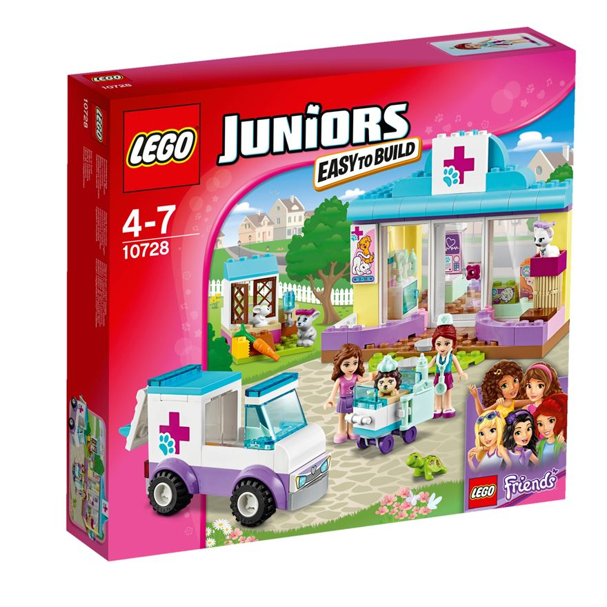 LEGO Juniors Friends Mia's Vet Clinic 10728 image-0