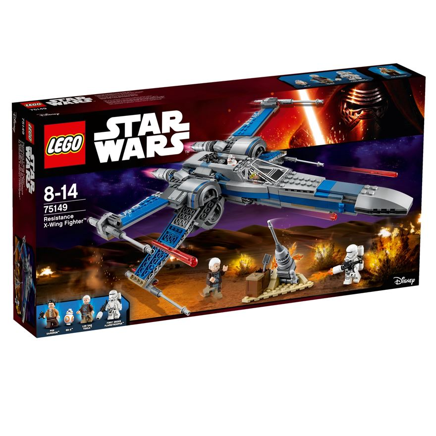 LEGO Star Wars Force Awakens Resistance X-Wing Fighter 75149 image-0