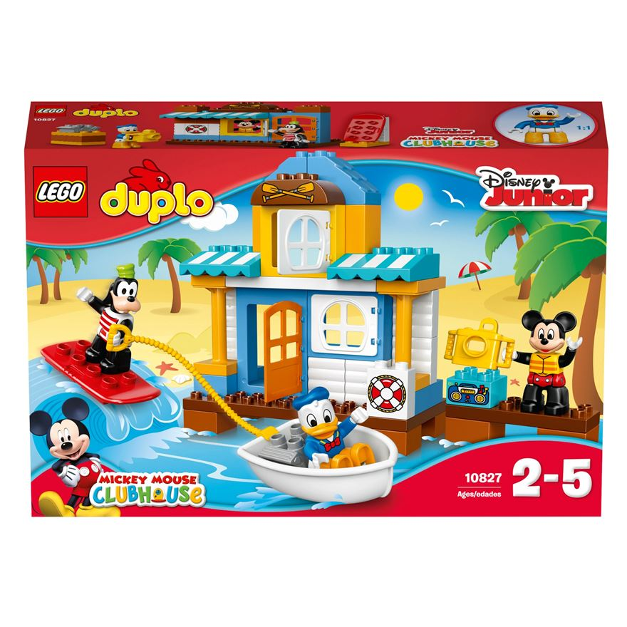 LEGO DUPLO Disney Junior Mickey & Friends Beach House 10827 image-0