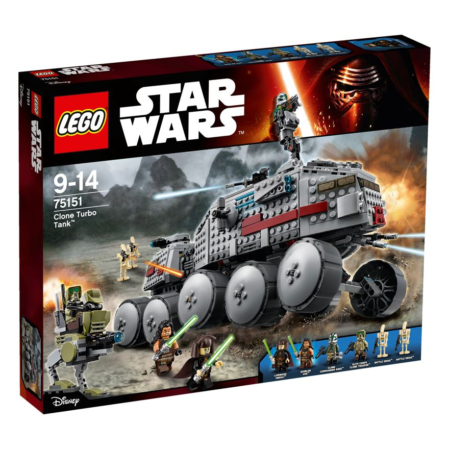 LEGO Star Wars Clone Turbo Tank 75151 image-0