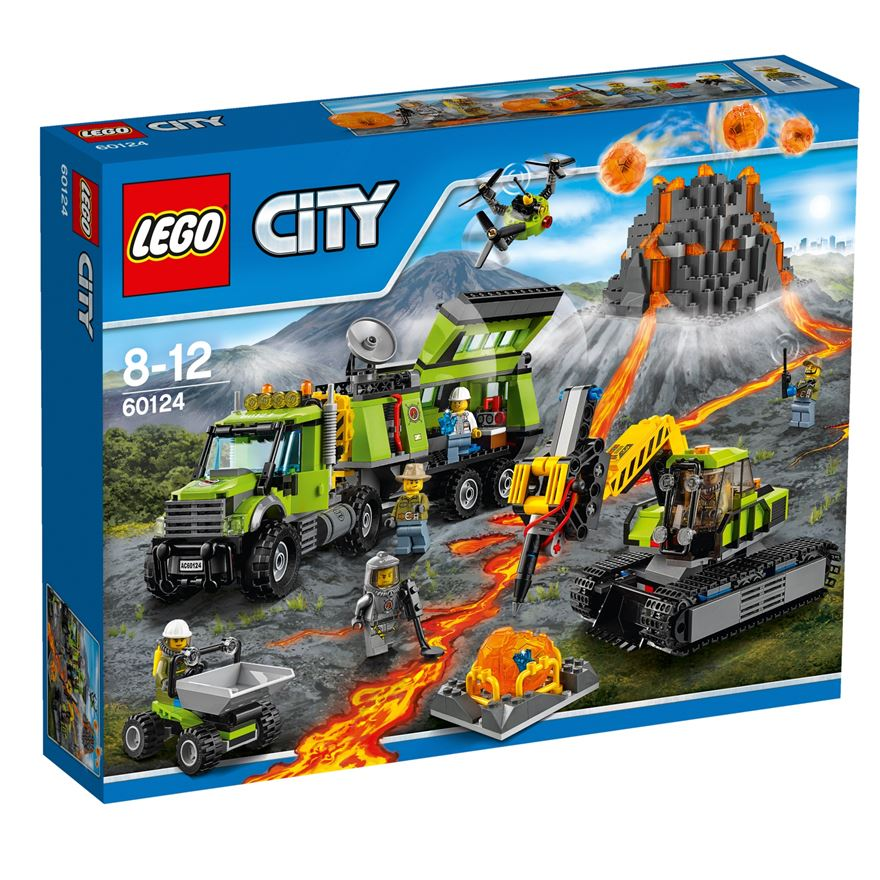 LEGO City Volcano Exploration Base 60124 image-0