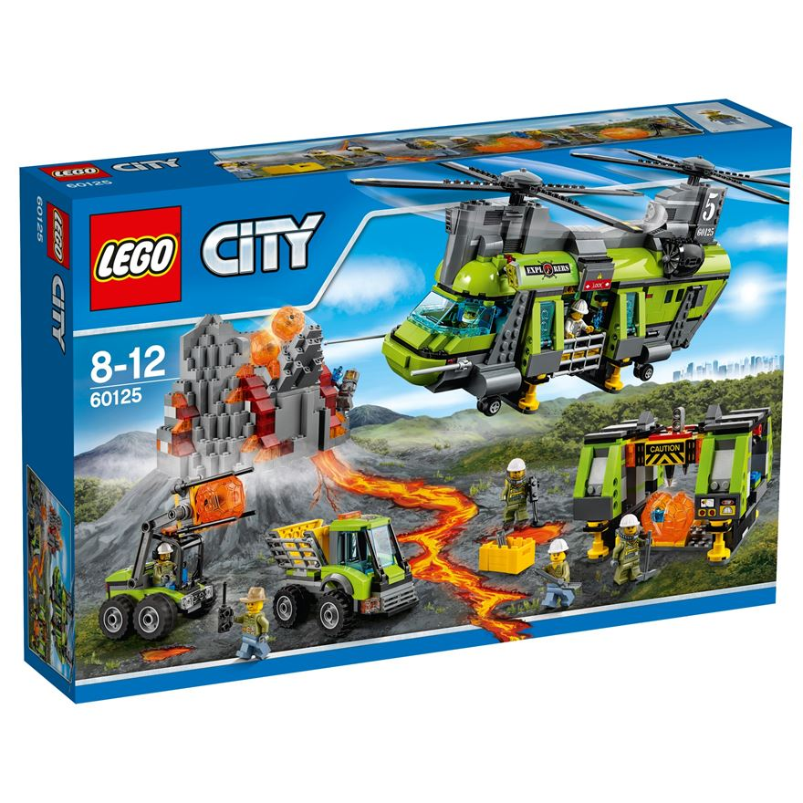 LEGO City Volcano Heavy-lift Helicopter 60125 image-0