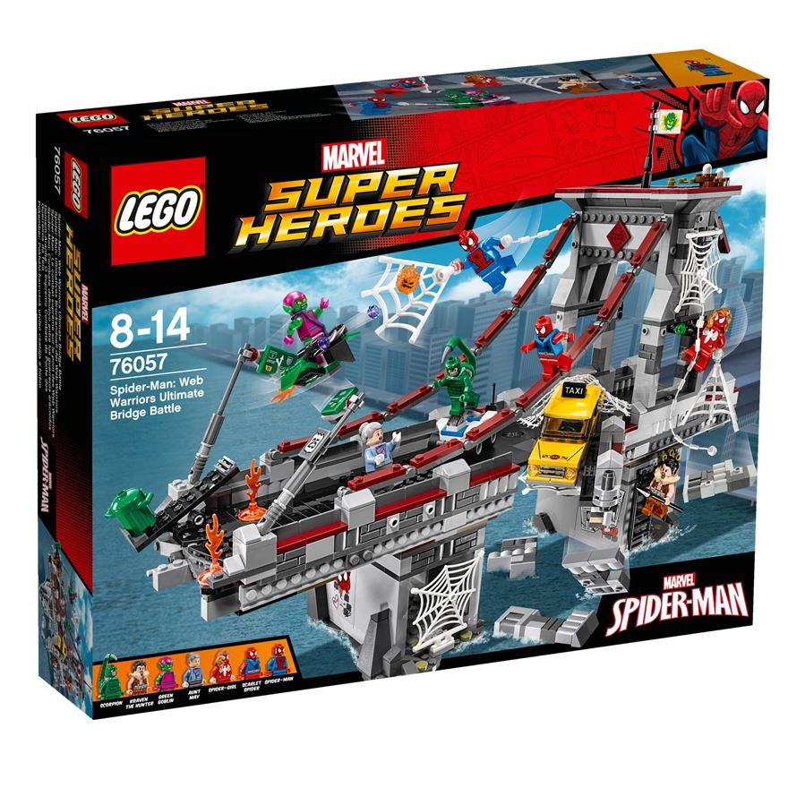 LEGO Marvel Super Heroes Spider-Man: Web Warriors Ultimate Bridge Battle 76057 image-0