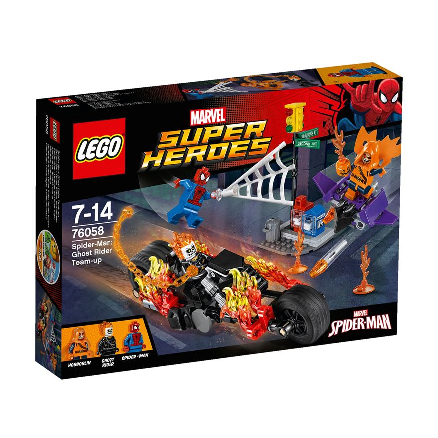 LEGO Marvel Super Heroes  Spider-Man: Ghost Rider Team-up 76058 image-0