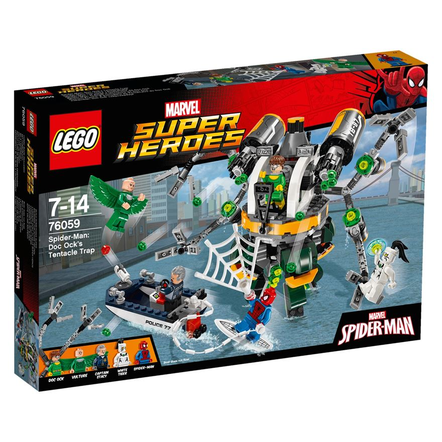 LEGO Marvel Super Heroes Spider-Man: Doc Ock's Tentacle Trap 76059 image-0