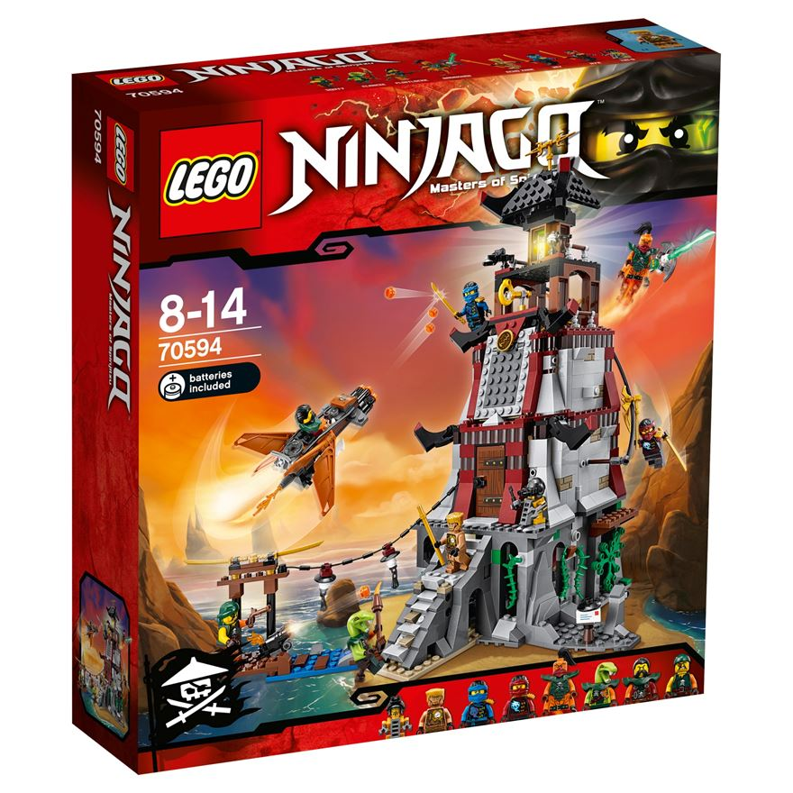 LEGO Ninjago The Lighthouse Siege 70594 image-0