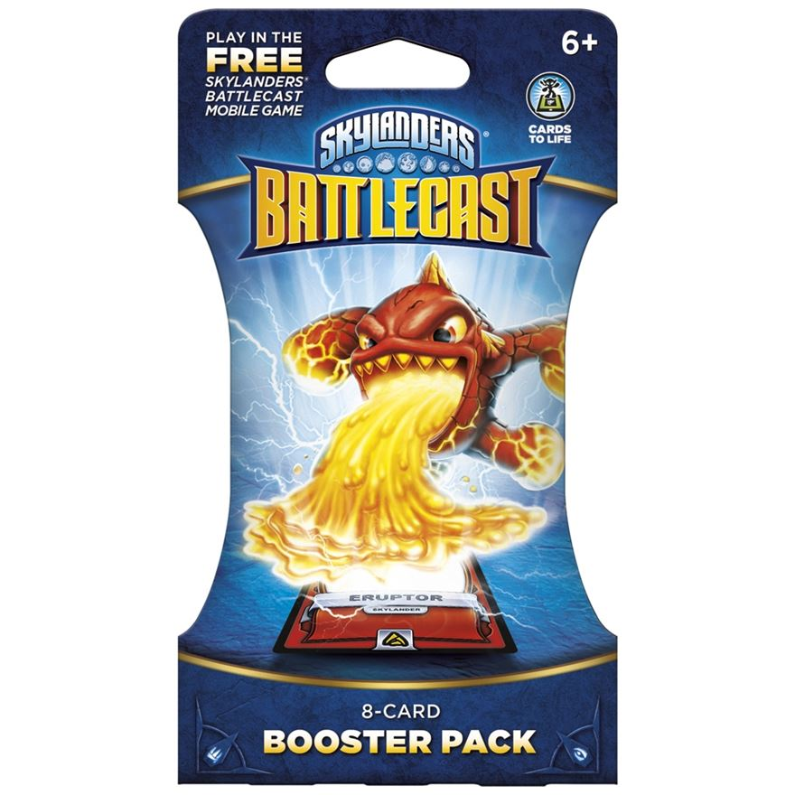 Skylanders Battlecast Booster Pack - 8 cards image-0