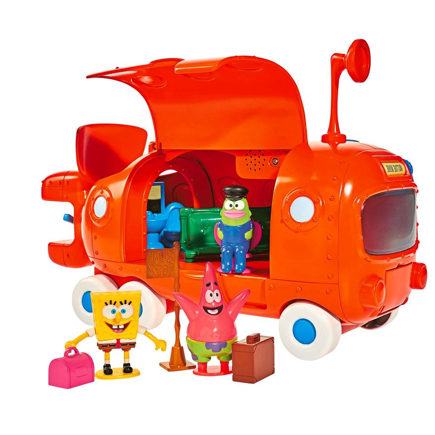 SpongeBob Submarine School Bus Playset image-0