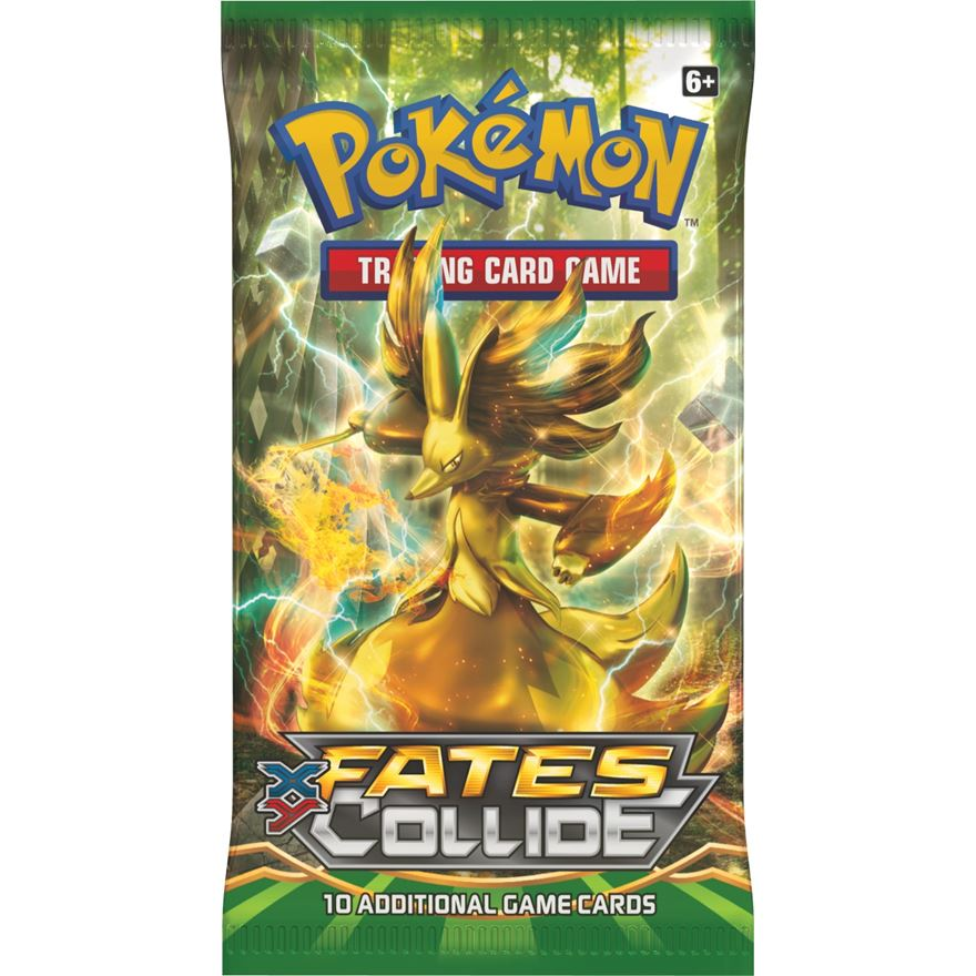 Pokémon XY10 Fates Collide Boosters - Assortment image-0