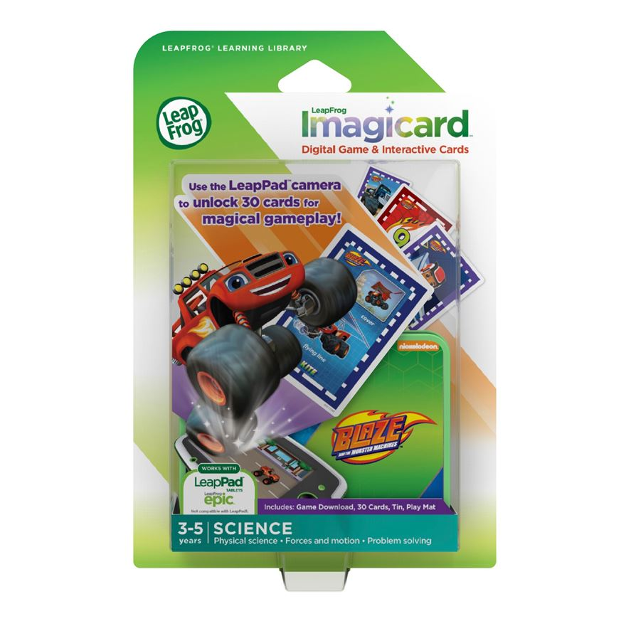 LeapFrog Blaze and the Monster Machines Imagicard image-0
