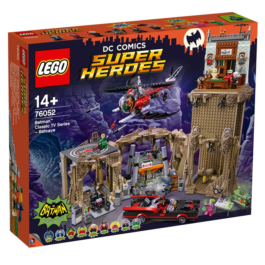 LEGO DC Comics Super Heroes Batman Classic TV Series Batcave 76052 image-0