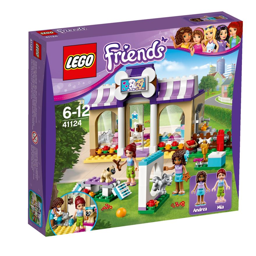 LEGO Friends Heartlake Puppy Daycare 41124 Set image-0