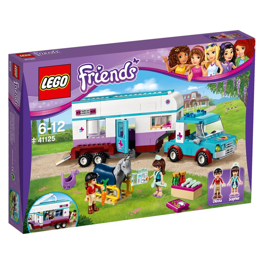 LEGO Friends Horse Vet Trailer 41125 image-0