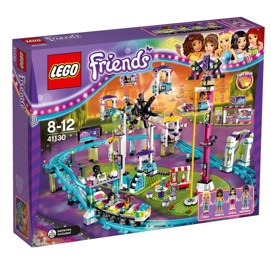 LEGO Friends Amusement Park Roller Coaster 41130 image-0
