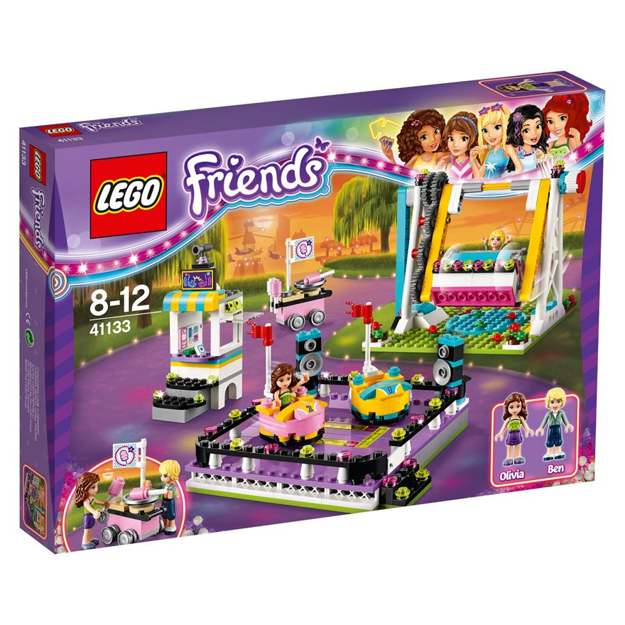 LEGO Friends Amusement Park Bumper Cars 41133 image-0