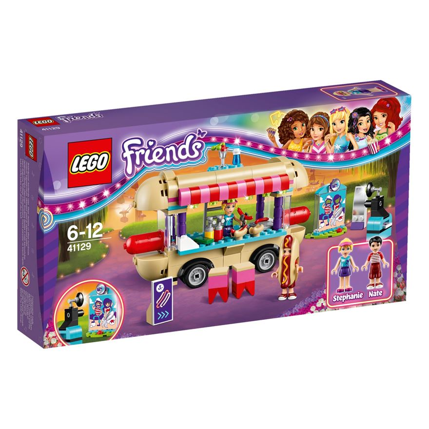 LEGO Friends Amusement Park Hot Dog Van 41129 image-0