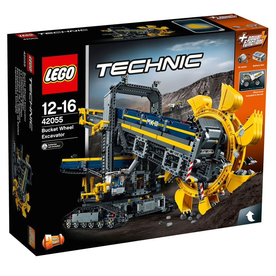 LEGO Technic Bucket Wheel Excavator 42055 image-0
