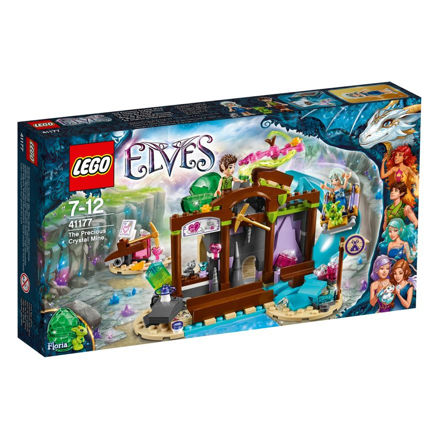 LEGO Elves The Elves' The Precious Crystal Mine 41177 image-0