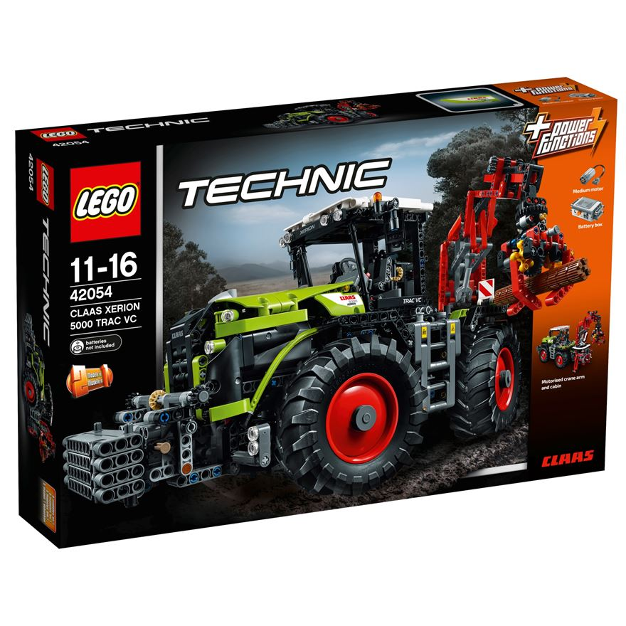 LEGO Technic CLAAS XERION 5000 Tractor VC 42054 image-0