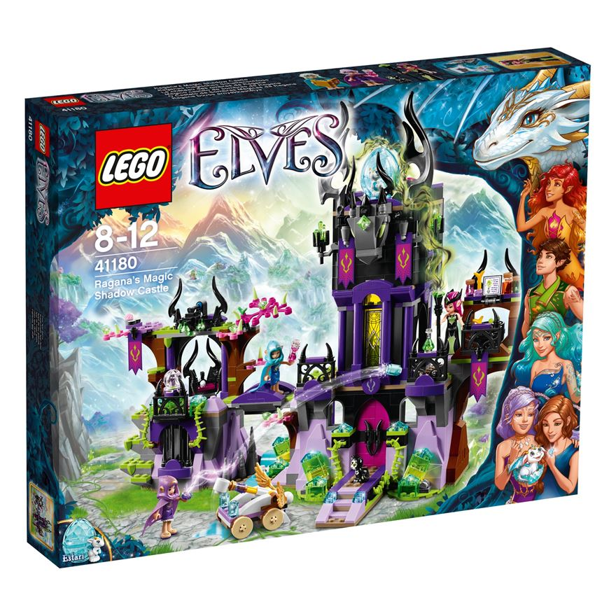 LEGO Elves Ragana's Magic Shadow Castle 41180 image-0
